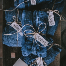 - AMY ROCHELLE PRESS - Handcrafted name tags for Croatia Workshop, Photography by Eva Kosmas Flores