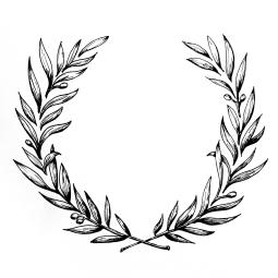- AMY ROCHELLE PRESS - Ornate wreath illustration