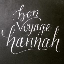 - AMY ROCHELLE PRESS - Chalk board lettering