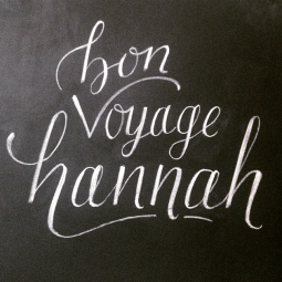- AMY ROCHELLE PRESS - Chalk board lettering