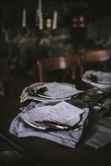- AMY ROCHELLE PRESS - Photography and styling workshop in Croatia by Eva Kosmas Flores, featuring menus I hand lettered with emerald green and soft grey inks.